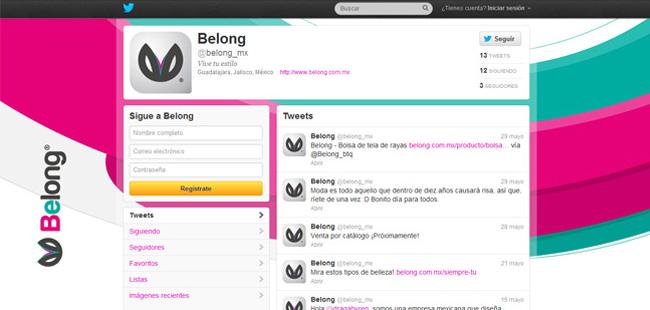 Belong BTQ - Twitter
