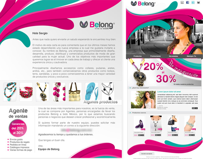 Belong BTQ - Carta y bolet�n