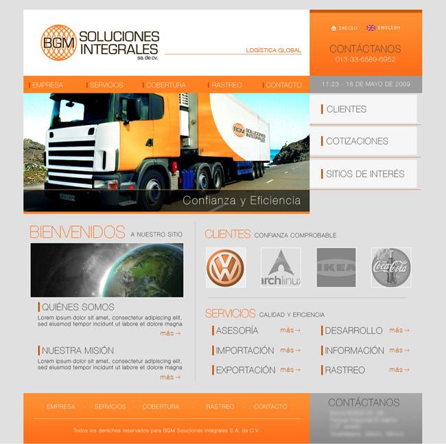 BGM - Sitio web