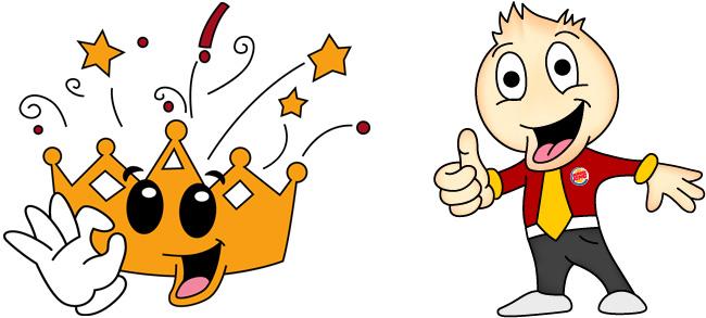 Burger king - Diseño de personajes
