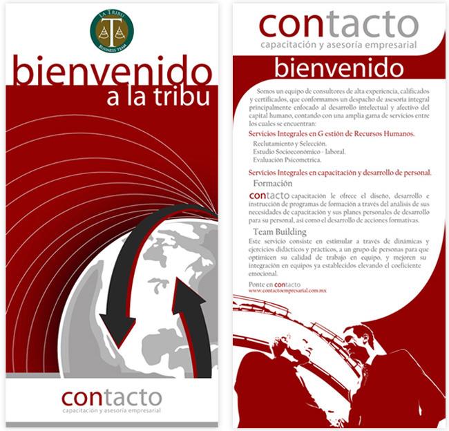 Contacto - Lona