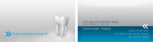 Odontología integral - Tarjeta de presentación