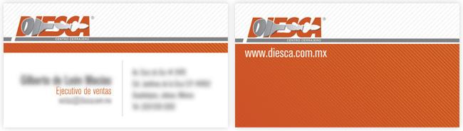 Diesca - Tarjeta de presentación