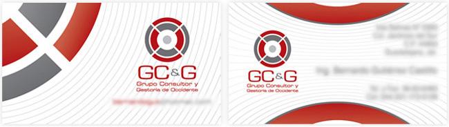 GC&G - Tarjeta de presentación