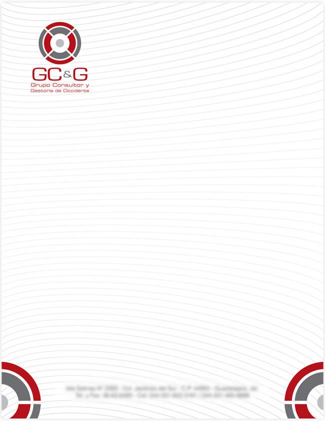 GC&G - Hoja membretada