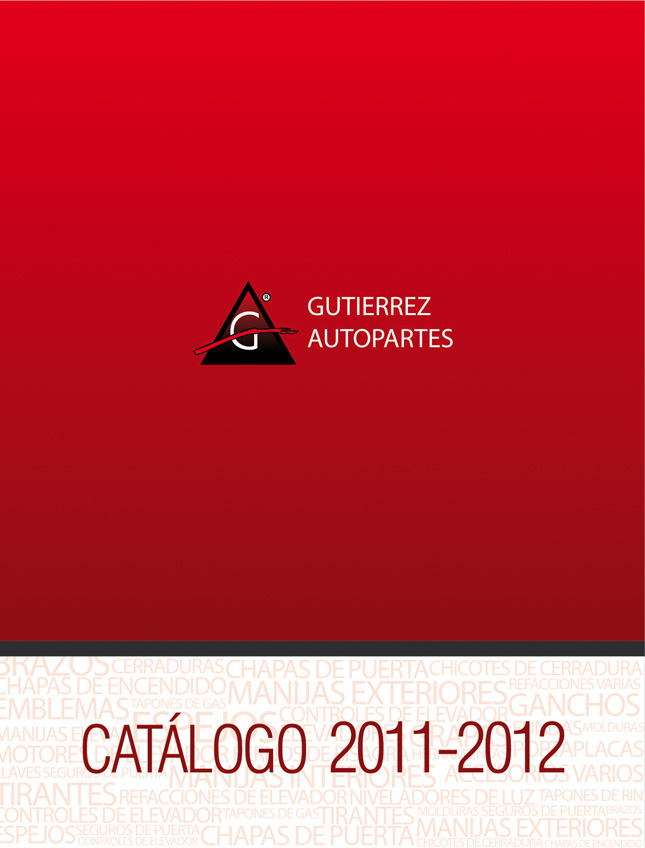Gutierrez Autopartes - Cátalogo 2012