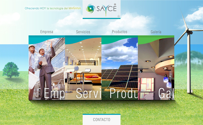 Sayce 2012 - Sitio web